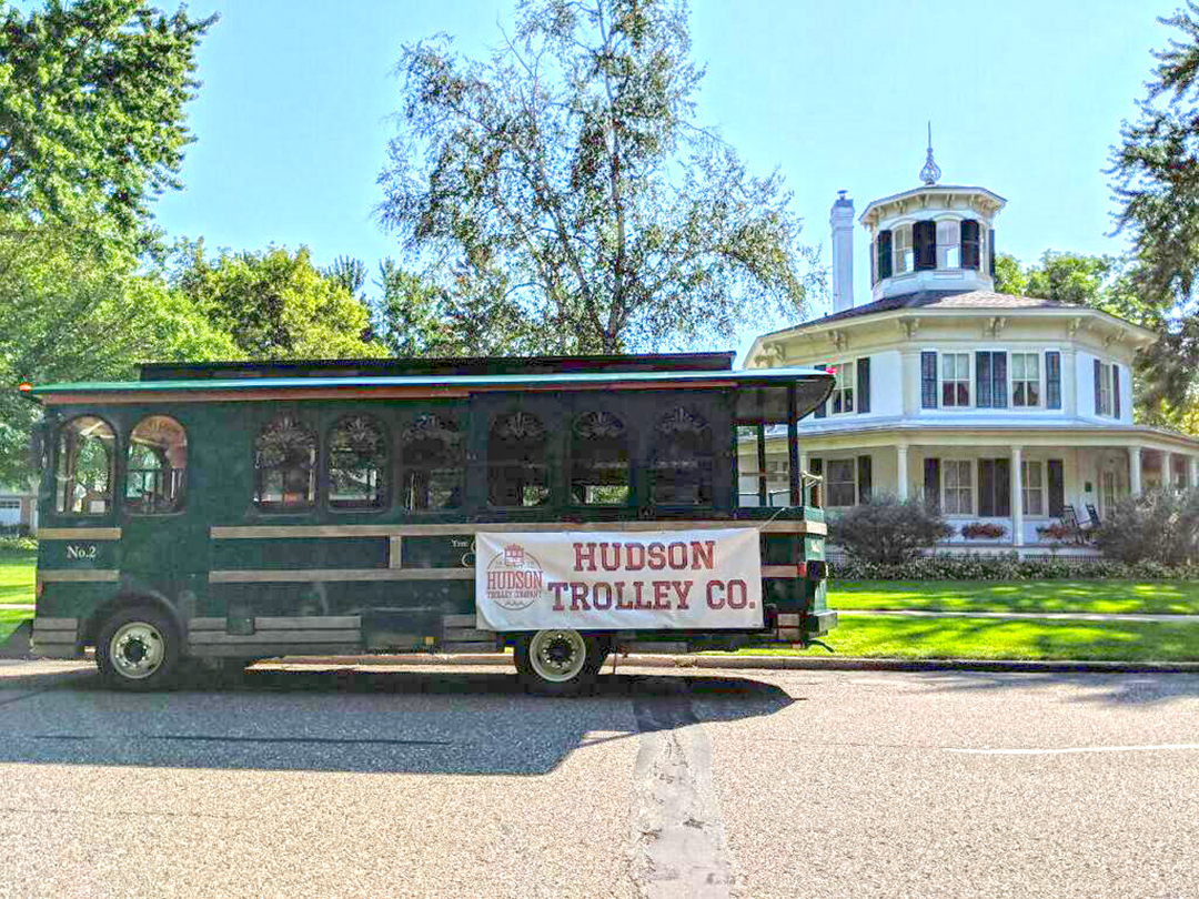 Trolley at Octagon House