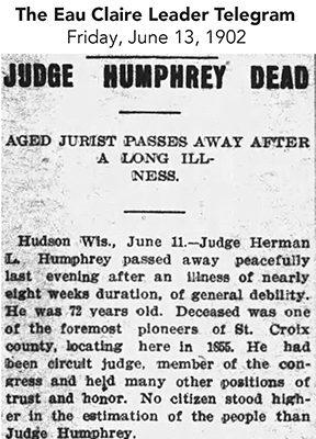 Humphrey Obit