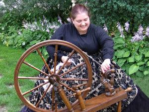 Beth spinning